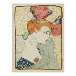 Mademoiselle Marcelle Lender by Toulouse Lautrec Postcard