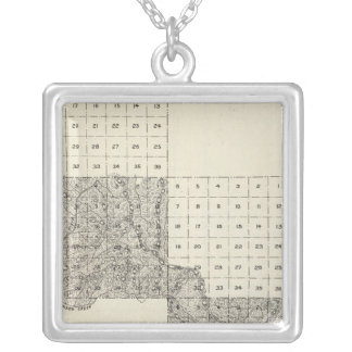 Madera County, California 11 Silver Plated Necklace