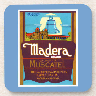 Madera Muscatel Beverage Coasters