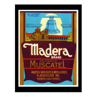 Madera Muscatel Postcard