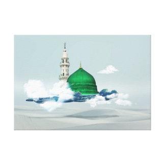 Madina Islamic canvas art design eastern Arabian c