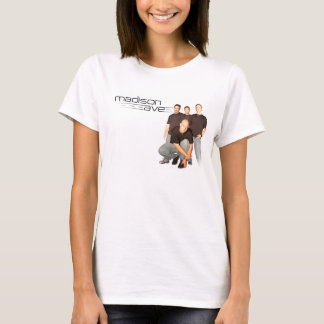 Madison Ave womens fitted T T-Shirt