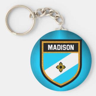 Madison Flag Key Ring
