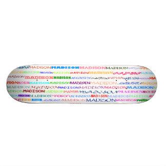 Madison Text Design II Skateboard