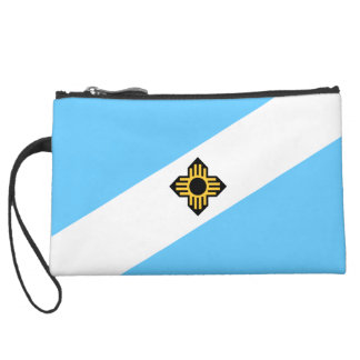 Madison, Wisconsin Flag Wristlet