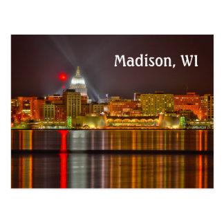 Madison, Wisconsin Postcard