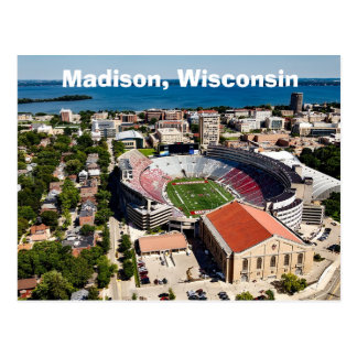 Madison Wisconsin The Capitol Postcard
