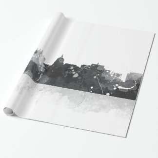 MADISON, WISCONSON SKYLINE - Wrapping Paper