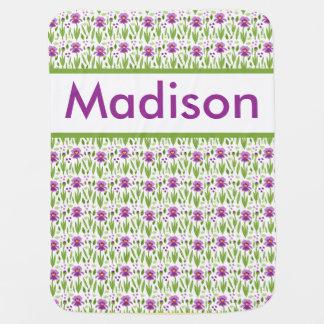 Madison's Personalized Iris Blanket