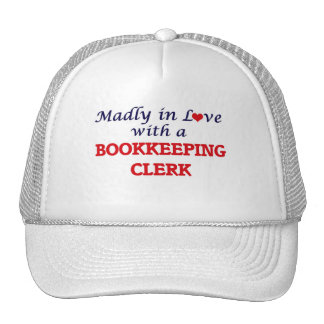 Madly in love with a Bookkeeping Clerk Cap