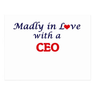 Madly in love with a Ceo Postcard