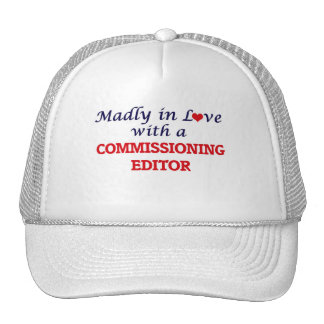 Madly in love with a Commissioning Editor Cap