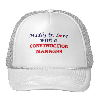 Madly in love with a Construction Manager Cap