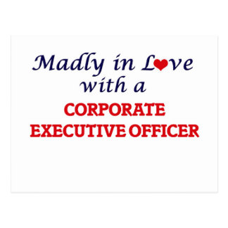 Madly in love with a Corporate Executive Officer Postcard
