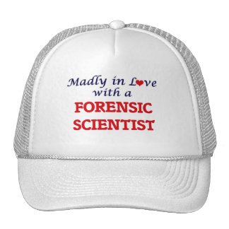 Madly in love with a Forensic Scientist Cap