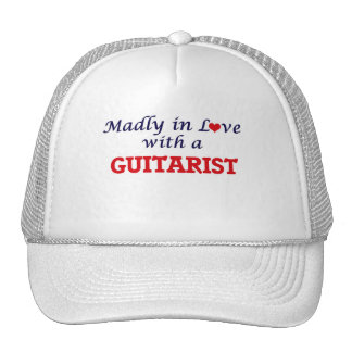 Madly in love with a Guitarist Cap