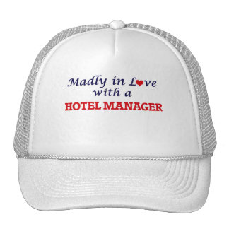 Madly in love with a Hotel Manager Cap