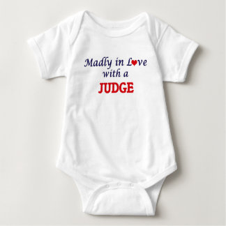 Madly in love with a Judge Baby Bodysuit
