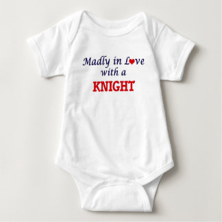 Madly in love with a Knight Baby Bodysuit