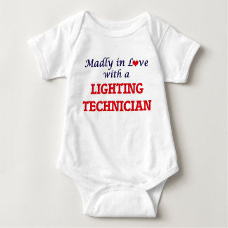 Madly in love with a Lighting Technician Baby Bodysuit