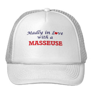 Madly in love with a Masseuse Cap