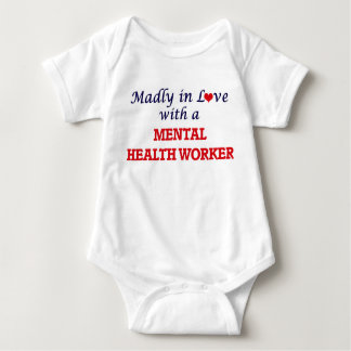 Madly in love with a Mental Health Worker Baby Bodysuit