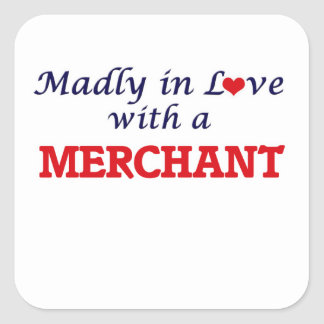 Madly in love with a Merchant Square Sticker