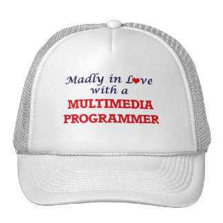 Madly in love with a Multimedia Programmer Cap