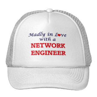 Madly in love with a Network Engineer Cap