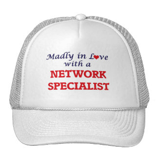 Madly in love with a Network Specialist Cap