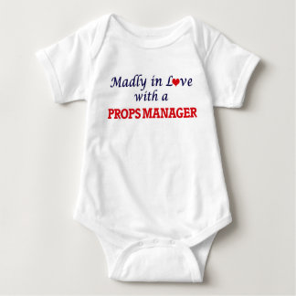 Madly in love with a Props Manager Baby Bodysuit