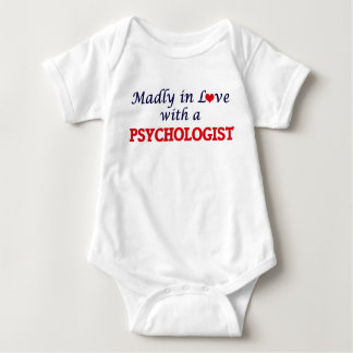 Madly in love with a Psychologist Baby Bodysuit