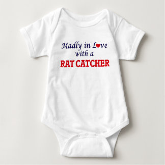 Madly in love with a Rat Catcher Baby Bodysuit
