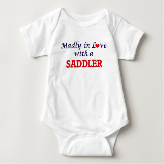 Madly in love with a Saddler Baby Bodysuit