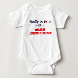 Madly in love with a Theater Lighting Director Baby Bodysuit
