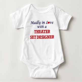 Madly in love with a Theater Set Designer Baby Bodysuit