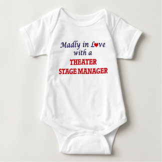 Madly in love with a Theater Stage Manager Baby Bodysuit
