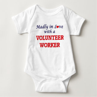 Madly in love with a Volunteer Worker Baby Bodysuit