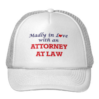 Madly in love with an Attorney At Law Cap