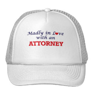 Madly in love with an Attorney Cap