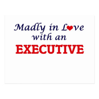 Madly in love with an Executive Postcard