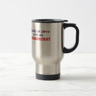 Madly in love with an It Consultant Travel Mug