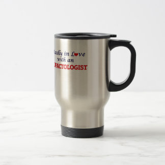 Madly in love with an Olfactologist Travel Mug