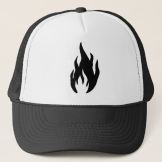 Madmen Hat (white and Black)