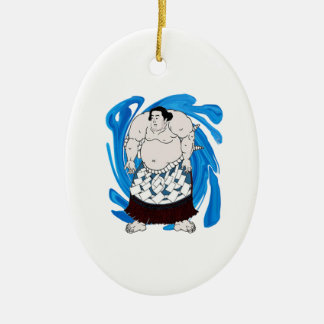 Madness and Mayhem Ceramic Ornament
