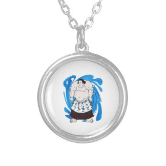 Madness and Mayhem Silver Plated Necklace