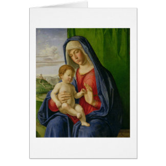 Madonna and Child, 1490s Card
