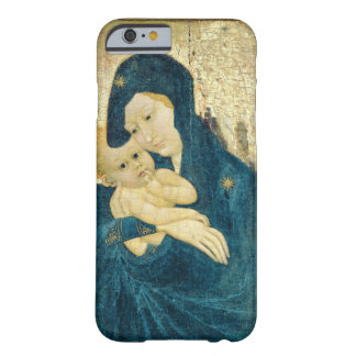 Madonna and Child, Bourgogne School (oil on panel) Barely There iPhone 6 Case