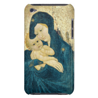 Madonna and Child, Bourgogne School (oil on panel) Barely There iPod Cover
