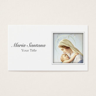 Madonna and Child Business Card